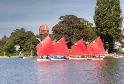 """Roger Searle """"Meare dinghy race"""""""