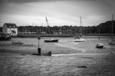 "Stuart Turner ""Over the Deben at low tide.1"""