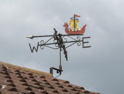 "Stuart Turner ""Weather vane Woodbridge Cruising Club"""